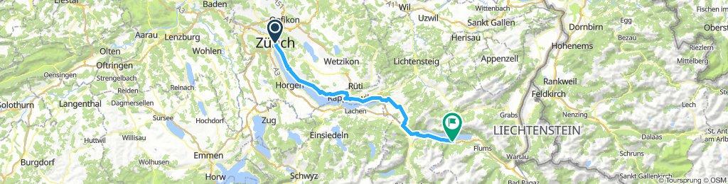 Zurich to Walensee