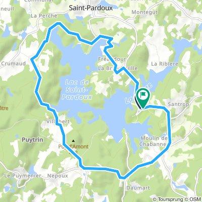 Saint Pardoux 14km