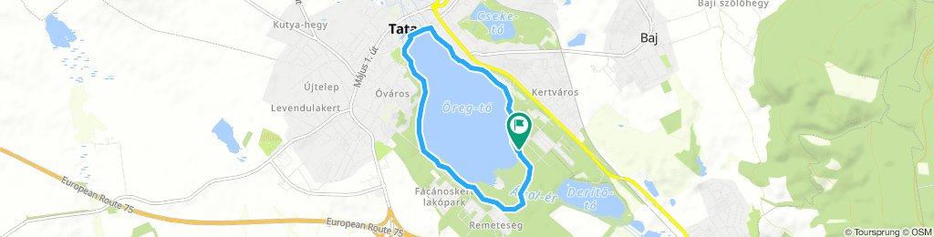 Around Öreg-tó (Lake Old)