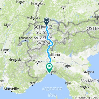 Brunau - Voltri HPG