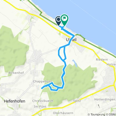 Snail-Like Sonntag Route In Uttwil