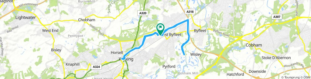 Long Morning Course In West Byfleet