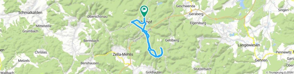 Oberhof Gipfelrunde 14.7.18