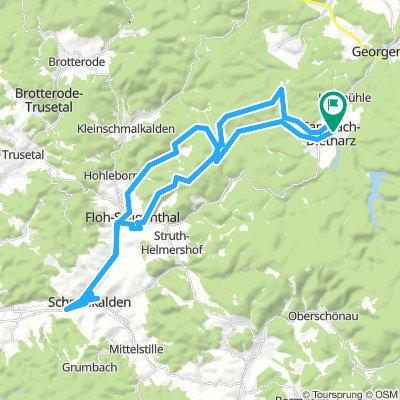 Städtetour Schmalkalden 12.7.18