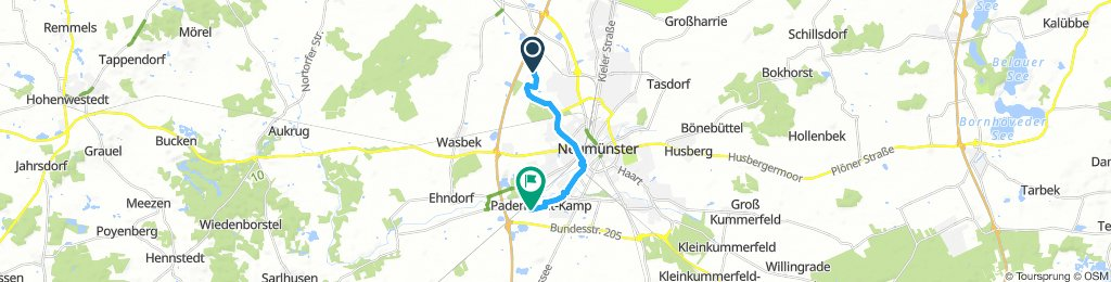 Lengthy Montag Route In Neumünster