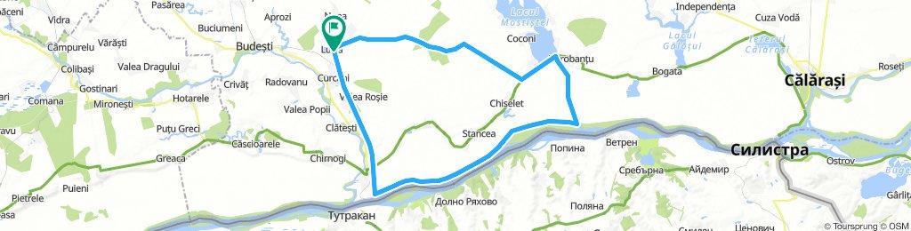 Luica - Oltenita - Manastirea - Luica
