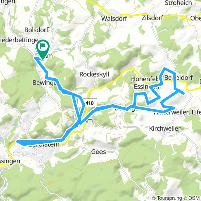 Lengthy Samstag Route In Dohm-Lammersdorf