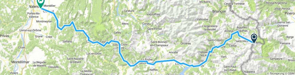 Colle del'Agnello - Valence