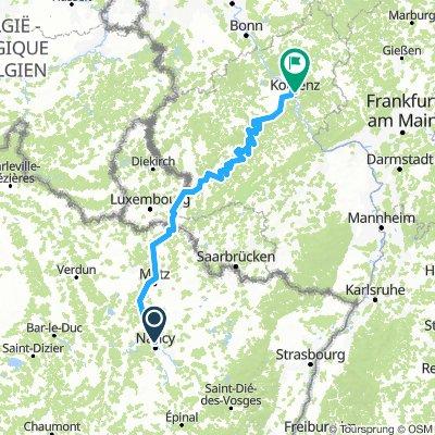 Nancy - Koblenz
