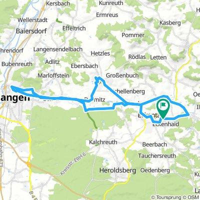 Einfahrrunde Erlangen