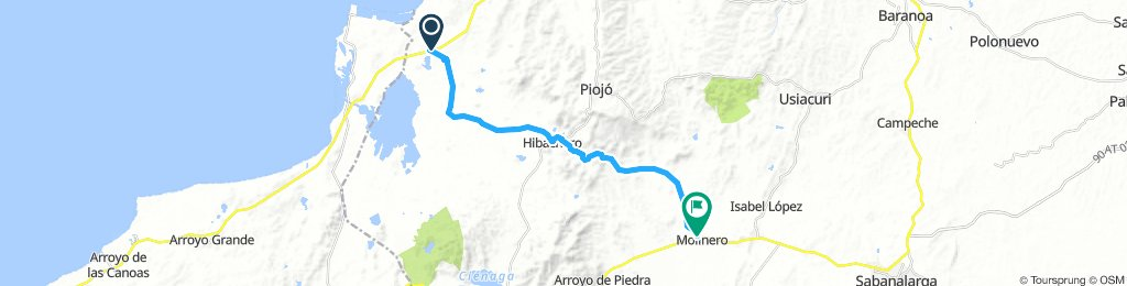 EL CERRITO - MOLINERO 28 KMS