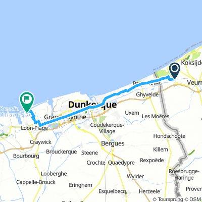 De Panne - Dunkerque