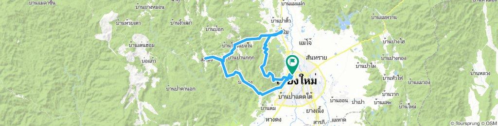 Reverse Samoeng Loop back via Bhubbing Palace