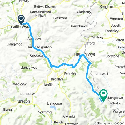 4 Builth Wells to Llanthony