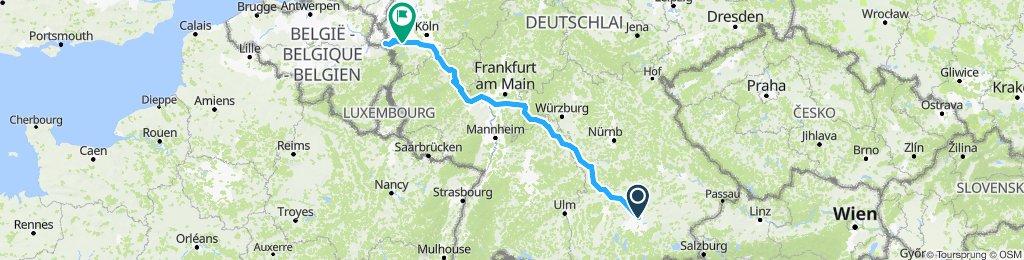 Tour nach Aachen