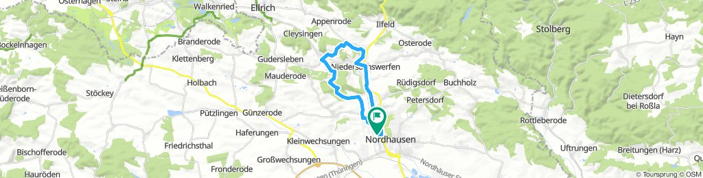 Nordhausen runde – Trail Runde von Nordhausen-Altentor