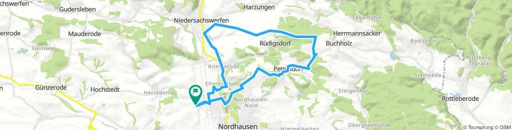 Von Buchenweg nach Mountainbike Waldweg