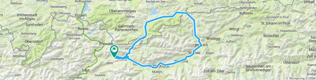 Mieming-Achensee-Mittenwald