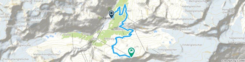 Zermatt-Ruffelalp-Gornergrat