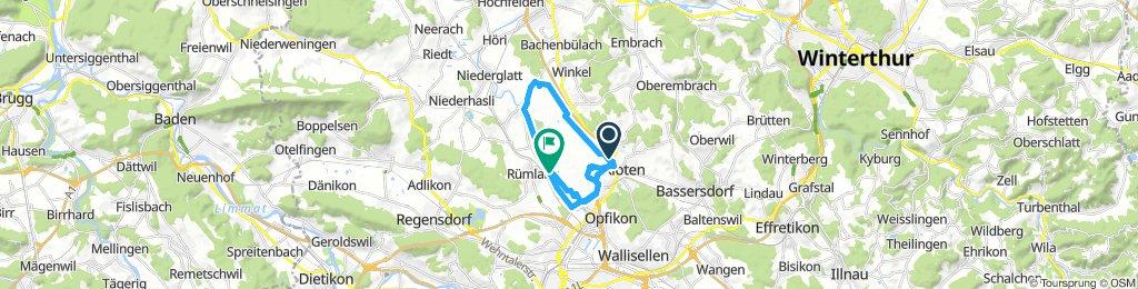 Spred Out Mittwoch Route In Kloten