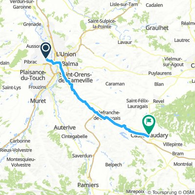 Day_1_Toulusa-Castelnaudary_70km