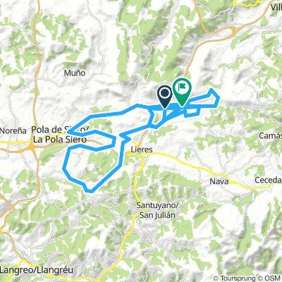IV Carrera Ciclista Máster Sariego