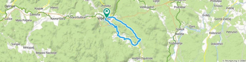 Vrbovsko - Cetin, Ljubošina