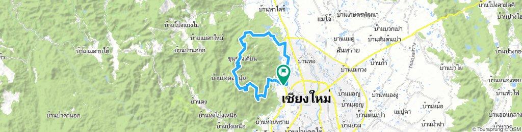 Chiang Mai - Doi Suthep - Huay Tueng Thao reservoir loop