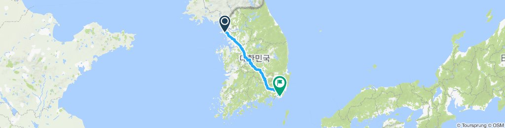 Incheon to Busan
