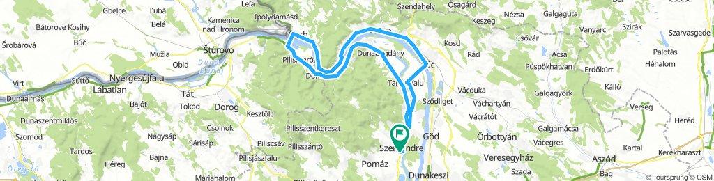 Dunakanyar kör 86km