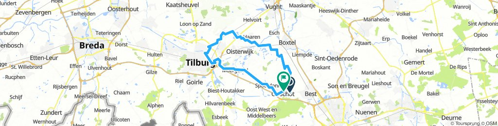19-7-2018 (do) Rondje langs Udenhout
