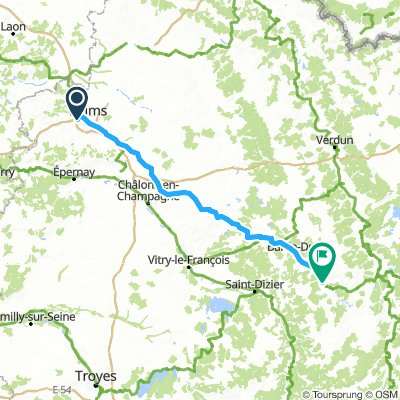 reims to Givrauval
