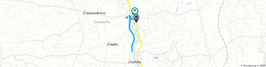 Long Afternoon Route In อ.สามชุก