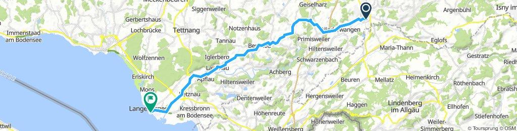 Wangen - Langenargen