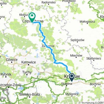 Łagiewniki-Jura Krakowsko-Częstochowska-Jasna Góra