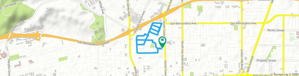 neighborhood route