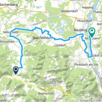 Fishbachau to Neubeuern
