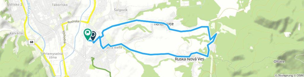 Presov - quick 45' ride above the city