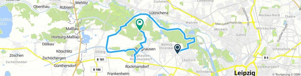 Luppe Bienitz - Start Leutsch