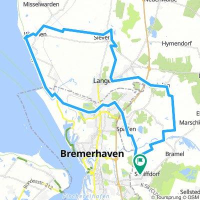 Tour Wremen 56 km