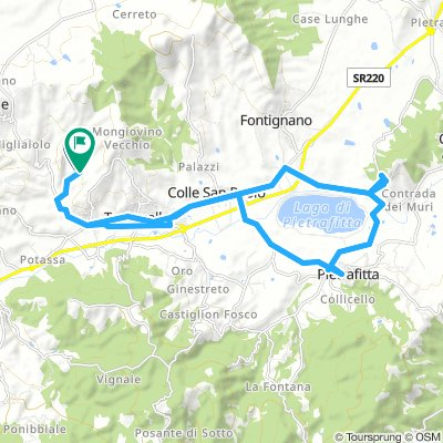 Rundtour Montepitriolo 25