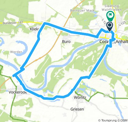 Lengthy Samstag Route In Coswig (Anhalt)
