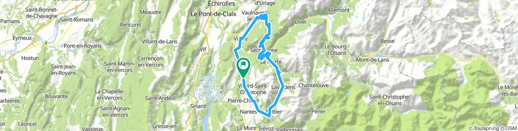 Lac Laffrey-Col Luitel-Col de la Morte 82km-2350m