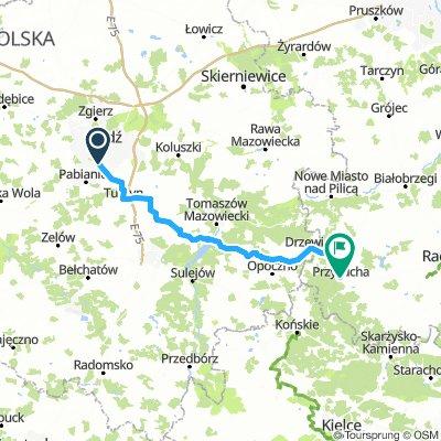 Łódź - Przysucha (W-E łódzka magistrala -> Drzewica)
