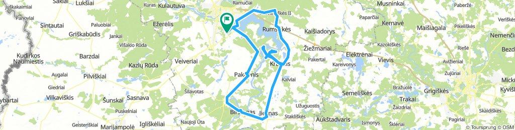 Kaunas - Jieznas - Kruonis - Kaunas