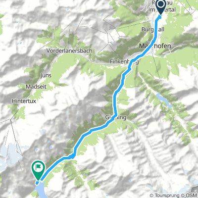 Tag2 Mayrhofen - Schleieisspeicher