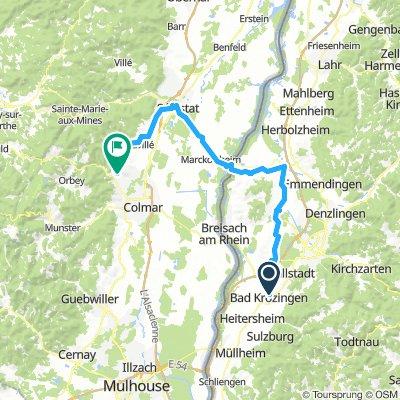 Bad Krozingen - Ribeauville
