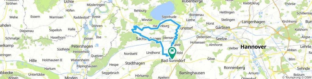 20 8-07-22 Bad Nenndorf Campingplatz Erlengrund Münchehagen - Alten's Ruh Wunstorf - Bad Nenndorf