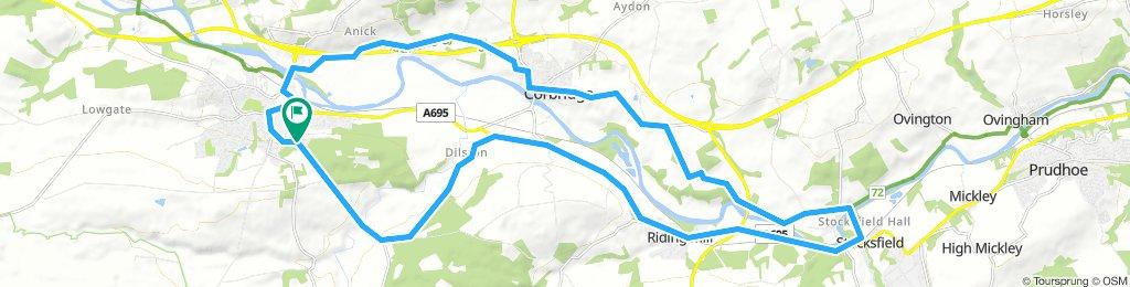 Hexham to Stocksfield