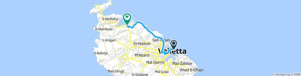 Valletta - Bugibba